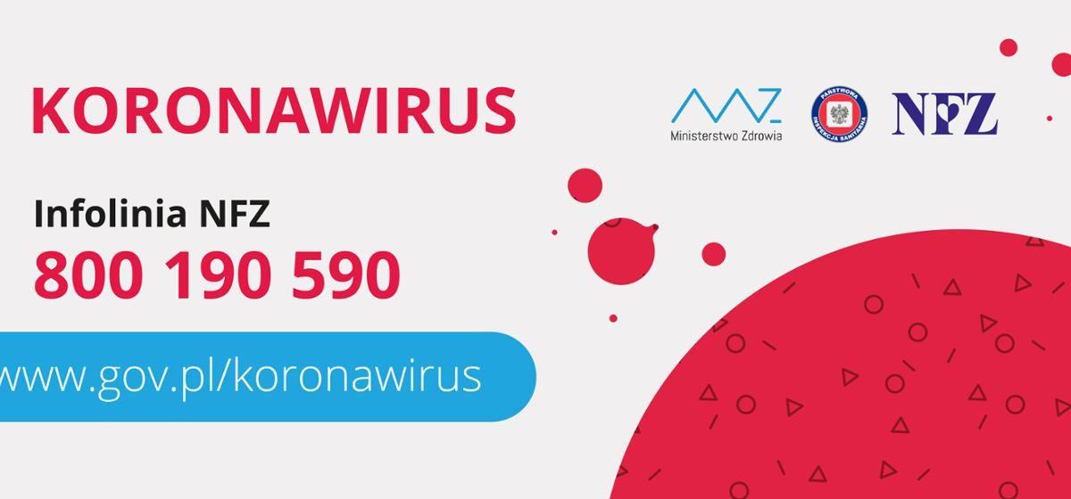 Ważne informacje dotyczące koronawirusa